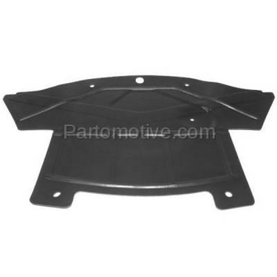 Aftermarket Replacement - ESS-1102 2005-2010 Chrysler/Dodge 300/Magnum & 2008-2018 Challenger & 2007-2014 Charger (2WD) Front Engine Under Cover Splash Shield Plastic