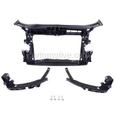 Aftermarket Replacement - RSP-1013 2009-2013 Audi A3 & A3 Quattro (30 Aniversario, Base, Sportback, TDI) (Hatchback 4-Door) Front Center Radiator Support Core Assembly Primed Plastic