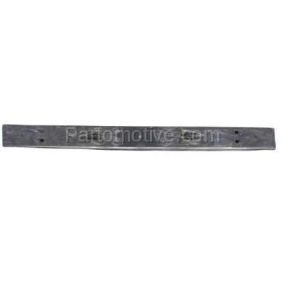 Aftermarket Replacement - BRF-1850R 1993-1997 Toyota Corolla (Base, DX, LE) Sedan & Wagon (2WD) Rear Bumper Impact Face Bar Crossmember Reinforcement Made of Plastic
