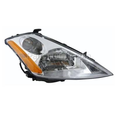 Aftermarket Auto Parts - HLT-1246RC CAPA 03-07 Murano Headlight Headlamp Halogen Head Light Lamp Passenger Side DOT