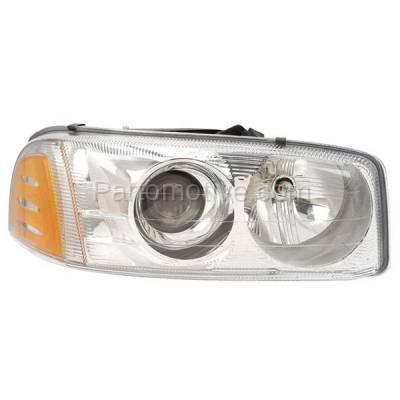 Aftermarket Auto Parts - HLT-1333RC CAPA Yukon XL Sierra Denali Headlight Headlamp Head Light Lamp Passenger Side R