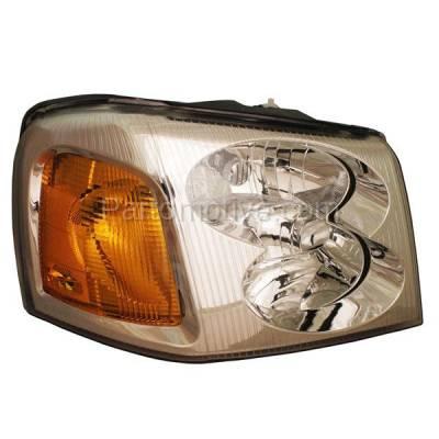 Aftermarket Auto Parts - HLT-1116RC CAPA 02-09 Envoy XL XUV Headlight Headlamp Front Head Light Lamp Passenger Side