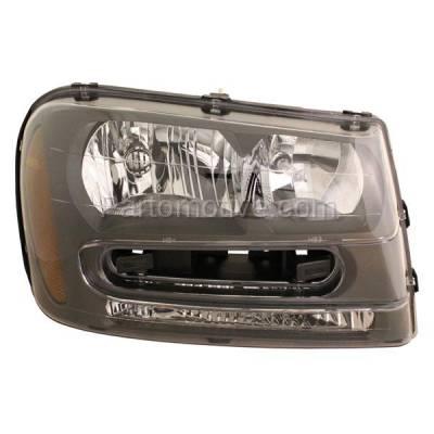 Aftermarket Auto Parts - HLT-1136RC CAPA 02-09 Chevy Trailblazer Headlight Headlamp Head Light Lamp Passenger Side