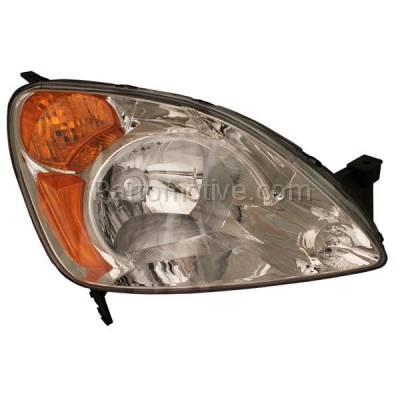 Aftermarket Auto Parts - HLT-1148RC CAPA 02-04 CR-V CRV Headlight Headlamp Front Head Light Lamp Passenger Side DOT