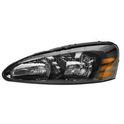 Aftermarket Auto Parts - HLT-1219LC CAPA 04-08 Pontiac Grand Prix Headlight Headlamp Head Light Lamp Driver Side