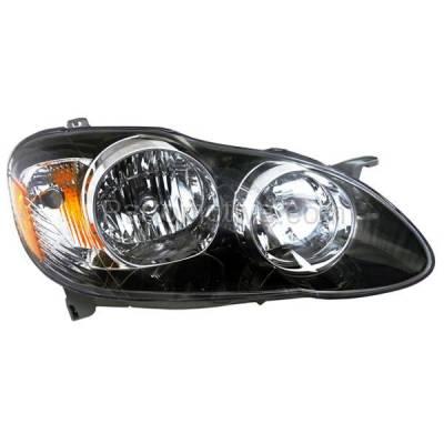 Aftermarket Auto Parts - HLT-1337RC CAPA 05-08 Corolla S XR XRS Headlight Headlamp Head Light Lamp Passenger Side R