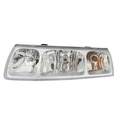 Aftermarket Auto Parts - HLT-1263LC CAPA 05 Saturn Vue Headlight Headlamp Front Halogen Head Light Lamp Driver Side