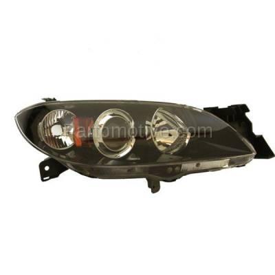 Aftermarket Auto Parts - HLT-1293RC CAPA 04-06 Mazda 3 Sedan 4-Door Headlight Headlamp Head Light Lamp Passenger RH