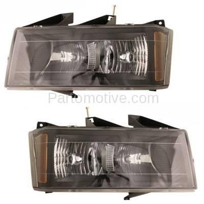 Aftermarket Auto Parts - HLT-1204LC & HLT-1204RC CAPA Colorado Canyon Headlight Headlamp Head Light Lamp Left Right Set PAIR DOT
