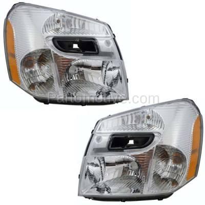 Aftermarket Auto Parts - HLT-1261LC & HLT-1261RC CAPA 05-09 Chevy Equinox Headlight Headlamp Head Light Lamp Right Left Set PAIR