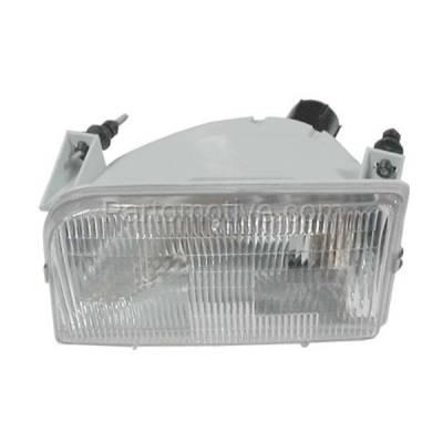 Aftermarket Auto Parts - HLT-1078LC CAPA Bronco F-Series Pickup Truck Headlight Headlamp Head Light Lamp Driver Side