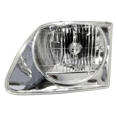 Aftermarket Auto Parts - HLT-1104LC CAPA 01-03 F150 Lightning Truck Headlight Headlamp Head Light Lamp Driver Side L