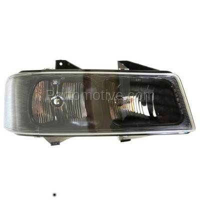 Aftermarket Auto Parts - HLT-1195RC CAPA 03-13 Chevy Express Van Headlight Headllamp Head Light Lamp Passenger Side
