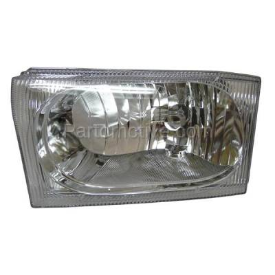 Aftermarket Auto Parts - HLT-1164LC CAPA Ford Excursion Pickup Truck Headlight Headlamp Head Light Lamp Driver Side