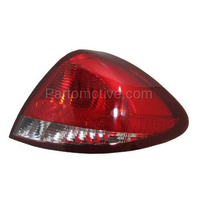 Aftermarket Auto Parts - TLT-1093RC CAPA 04-07 Taurus Sedan Taillight Taillamp Rear Brake Light Lamp Passenger Side