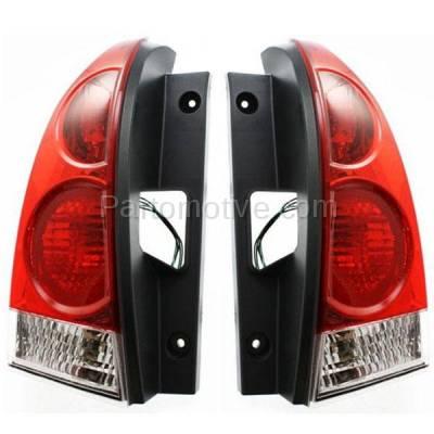 Aftermarket Auto Parts - TLT-1212LC & TLT-1212RC CAPA 07-09 Quest Taillight Taillamp Rear Brake Light Lamp Right & Left Set PAIR