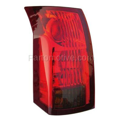 Aftermarket Auto Parts - TLT-1213LC CAPA 04-07 Cadillac CTS Taillight Taillamp Rear Brake Light Lamp Driver Side LH