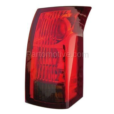 Aftermarket Auto Parts - TLT-1213RC CAPA 04-07 Cadillac CTS Taillight Taillamp Rear Brake Light Lamp Passenger Side