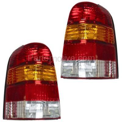 Aftermarket Auto Parts - TLT-1019LC & TLT-1019RC CAPA 01-07 Escape Taillight Taillamp Rear Brake Light Lamp Left & Right Set PAIR