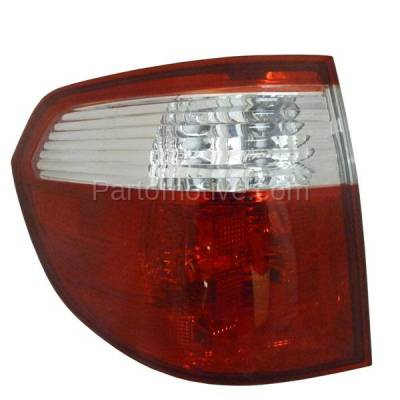 Aftermarket Auto Parts - TLT-1164LC CAPA 05-07 Odyssey Taillight Taillamp Rear Brake Outer Lamp Light Driver Side LH