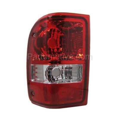 Aftermarket Auto Parts - TLT-1219LC CAPA 06-11 Ranger Truck Taillight Taillamp Rear Brake Light Lamp Driver Side LH