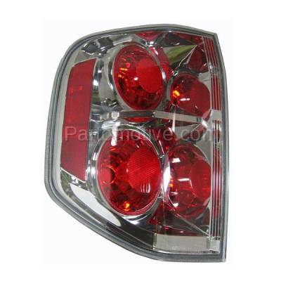 Aftermarket Auto Parts - TLT-1220LC CAPA 06-08 Honda Pilot Taillight Taillamp Rear Brake Light Lamp Driver Side LH