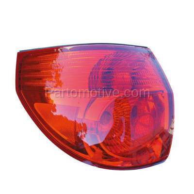 Aftermarket Auto Parts - TLT-1300LC CAPA 06-10 Sienna Taillight Taillamp Rear Brake Outer Light Lamp Driver Side LH