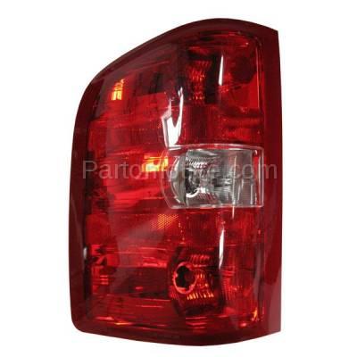 Aftermarket Auto Parts - TLT-1309LC CAPA Silverado Sierra Truck Taillight Taillamp Rear Brake Light Lamp Driver Side