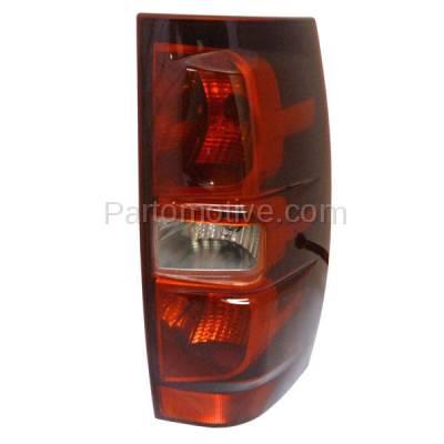 Aftermarket Auto Parts - TLT-1314RC CAPA 07-13 Tahoe Suburban Taillight Taillamp Brake Light Lamp Passenger Side RH