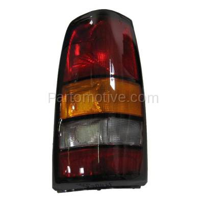 Aftermarket Auto Parts - TLT-1114LC CAPA 04-07 Sierra Truck Taillight Taillamp Rear Brake Light Lamp Driver Side LH