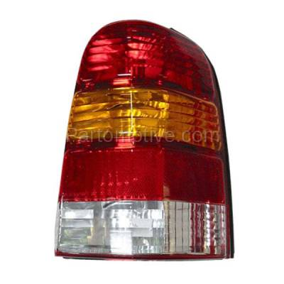 Aftermarket Auto Parts - TLT-1019RC CAPA 01-07 Ford Escape Taillight Taillamp Rear Brake Light Lamp Passenger Side