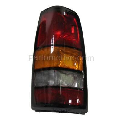 Aftermarket Auto Parts - TLT-1114RC CAPA 04-07 Sierra Truck Taillight Taillamp Rear Brake Light Lamp Passenger Side