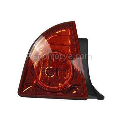 Aftermarket Auto Parts - TLT-1391LC CAPA 08-12 Malibu LS LT Hybrid Taillight Taillamp Brake Light Lamp Driver Side L