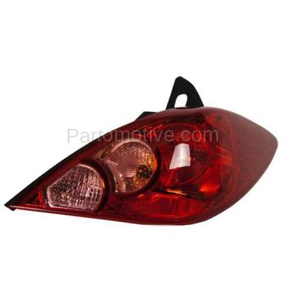 Aftermarket Auto Parts - TLT-1393RC CAPA 07-12 Versa Hatchback Taillight Taillamp Brake Light Lamp Passenger Side R