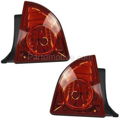 Aftermarket Auto Parts - TLT-1391LC & TLT-1391RC CAPA 08-12 Malibu LS LT Hybrid Taillight Taillamp Light Lamp Left Right Set PAIR