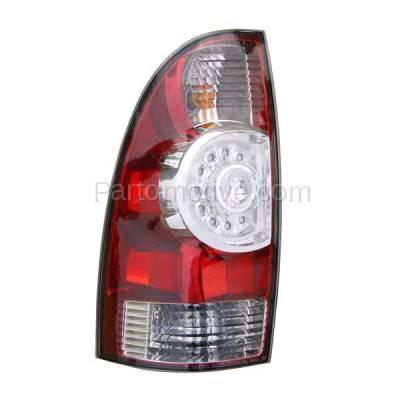 Aftermarket Auto Parts - TLT-1616LC CAPA 08-13 Tacoma Truck LED Taillight Taillamp Rear Brake Light Lamp Driver Side