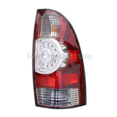 Aftermarket Auto Parts - TLT-1616RC CAPA 08-13 Tacoma Truck LED Taillight Taillamp Brake Light Lamp Passenger Side