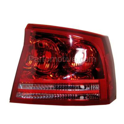 Aftermarket Auto Parts - TLT-1378RC CAPA 06-08 Dodge Charger Taillight Taillamp Brake Light Lamp Passenger Side RH