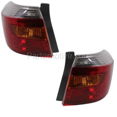 Aftermarket Auto Parts - TLT-1423LC & TLT-1423RC CAPA 08-10 Highlander Sport Taillight Taillamp Brake Light Lamp Left & Right Set