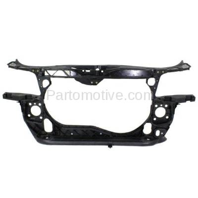 Aftermarket Replacement - RSP-1014 2002-2005 Audi A4 (Base & Avant) Sedan & Wagon 1.8L Front Center Radiator Support Core Assembly Primed Made of Plastic with Steel