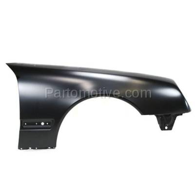Aftermarket Replacement - FDR-1222R 2000-2003 Mercedes Benz E-Class E320 E430 (without AMG Styling Package) Front Fender Quarter Panel Primed Right Passenger Side