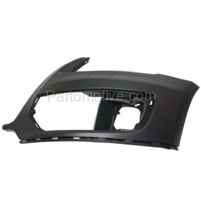 Aftermarket Replacement - BUC-1058FC CAPA 09-12 Q5 Front Bumper Cover Assy Left Driver Side AU1016100 8R0807107AGRU