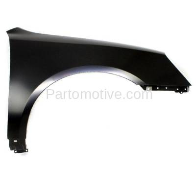Aftermarket Replacement - FDR-1539RC CAPA 2006-2008 Kia Magentis & Optima (2.4 & 2.7 Liter Engine) Front Fender Quarter Panel (without Molding Holes) Steel Right Passenger Side