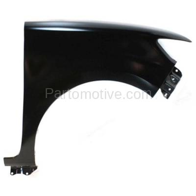 Aftermarket Replacement - FDR-1828RC CAPA 2008-2015 Scion xB (Wagon 4-Door) (2.4 Liter 4Cyl Engine) Front Fender Quarter Panel (without Molding Holes) Steel Right Passenger Side