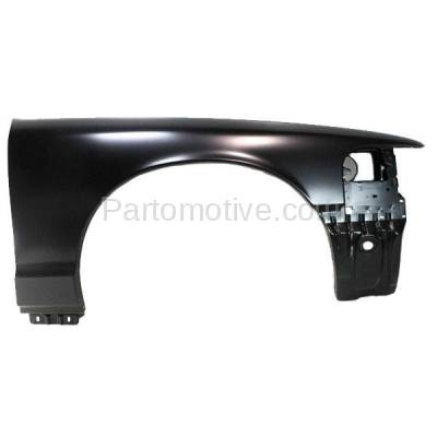 Aftermarket Replacement - FDR-1190RC CAPA 2003-2011 Ford Crown Victoria & Mercury Grand Marquis & Marauder Front Fender Quarter Panel Primed Steel Right Passenger Side