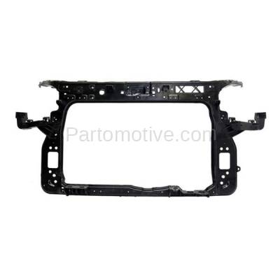 Aftermarket Replacement - RSP-1447 2012-2013 Kia Soul (Hatchback 4-Door) (1.6 & 2.0 Liter Engine) Front Radiator Support Core Assembly Textured Made of Plastic with Steel