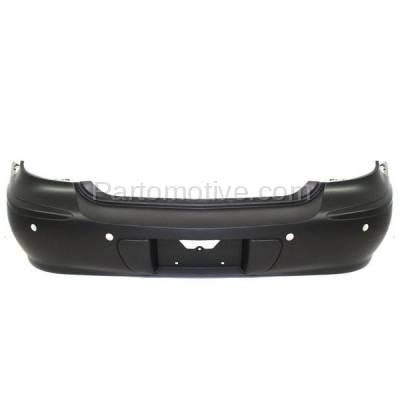 Aftermarket Replacement - BUC-2046R 05-09 LaCrosse Rear Bumper Cover Assembly w/Park Sensor Holes GM1100709 12336062