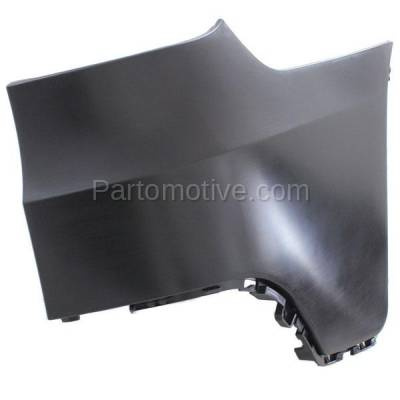 Aftermarket Replacement - BED-1001R 2007-2010 BMW X5 (3.0 & 4.8 Liter Engine) (Except M Model) Rear Bumper Extension End Cap Primed Plastic Right Passenger Side
