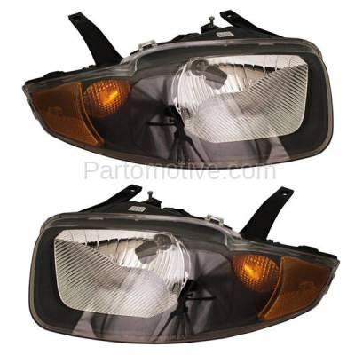 Aftermarket Auto Parts - HLT-1167LC & HLT-1167RC CAPA 03-05 Chevy Cavalier Headlight Headlamp Head Light Lamp Left Right Set PAIR