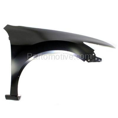 Aftermarket Replacement - FDR-1782RC CAPA 2009-2014 Acura TSX (Sedan & Wagon 4-Door) (2.4L 3.5L 4Cyl/6Cyl Engine) Front Fender Quarter Panel Primed Right Passenger Side